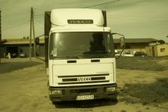 Przód ciężarówki Iveco